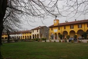 Località Monticelli d'Oglio – Borghi rurali e palazzo Greppi – Gironda